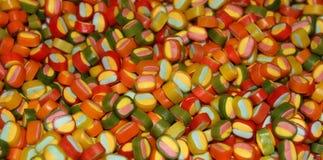 Dulces coloridos del caramelo Fotografía de archivo