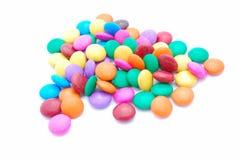 Dulces coloridos del chocolate Fotos de archivo libres de regalías