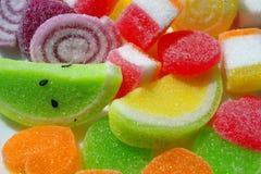 Dulces con sabor a fruta Fotografía de archivo