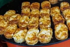Dulces coreanos de Gyeran Bbang fotos de archivo