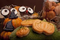Dulces de Halloween para el partido de Halloween Foto de archivo