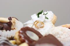 Dulces de la boda Fotografía de archivo libre de regalías
