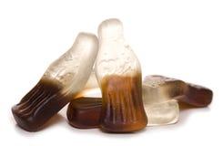 Dulces de la botella del coque Imagen de archivo