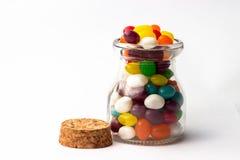 Dulces de la haba de jalea Foto de archivo libre de regalías