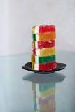 Dulces de la mermelada de la fruta Imagen de archivo libre de regalías