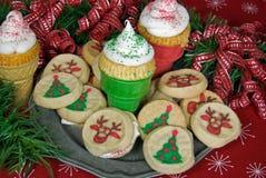 Dulces de la Navidad fotografía de archivo