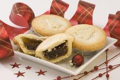 Dulces de la Navidad. Foto de archivo