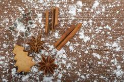 Dulces de la Navidad Foto de archivo