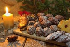 Dulces de la Navidad Fotos de archivo libres de regalías
