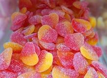 Dulces de los corazones de la jalea Fotografía de archivo