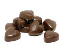 Dulces del chocolate Fotografía de archivo libre de regalías