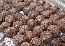 Dulces del chocolate oscuro foto de archivo libre de regalías