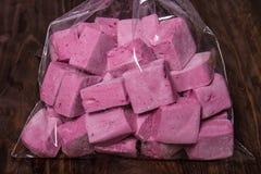 Dulces rosados Imagen de archivo libre de regalías