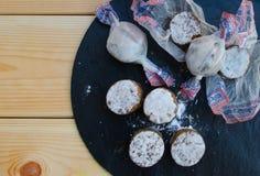 Dulces típicos de la Navidad en España Foto de archivo
