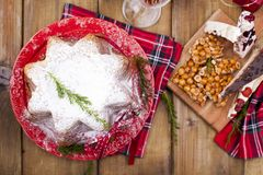 Dulces típicos tradicionales para la Navidad en Italia Cafés de NU imagenes de archivo