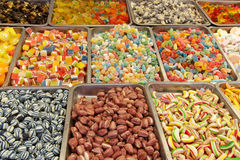 Dulces y caramelo Fotos de archivo