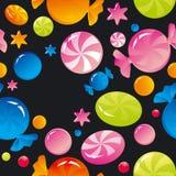 Dulces y caramelos de azúcar Imágenes de archivo libres de regalías