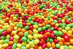 Dulces y caramelos de azúcar coloridos Imagen de archivo