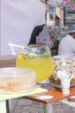 Dulces y refrescos Foto de archivo libre de regalías