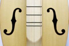 Dulcimer, folk instrument close-up. background stock photo