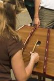 Dulcimer martellato immagine stock