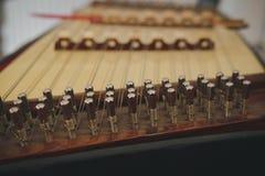 Dulcimer. Thai traditional folk music instrument. Dulcimer. Thai traditional purcussion folk music instrument stock images
