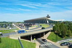 Dulles International Airport Stock Photos