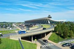 Dulles-internationaler Flughafen stockfotos