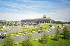 Dulles-internationaler Flughafen stockfotografie