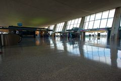 Dulles-internationaler Flughafen Stockfoto