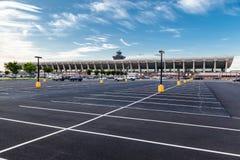 Dulles internationell flygplats Washington arkivbild