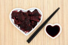 Dulse Seaweed Health Food Royalty Free Stock Photo