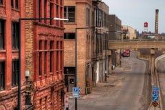 Duluth è una destinazione turistica popolare nel Midwest superiore sopra fotografia stock