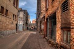 Duluth está um destino popular do turista no Midwest superior ligada Fotografia de Stock