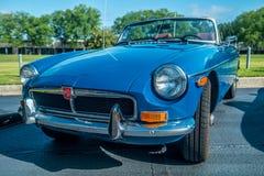 Duluth, Georgia/USA 5/20/2017 A sports car show royalty free stock photos