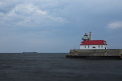 Duluth Harbor Lighthouse Stock Photos