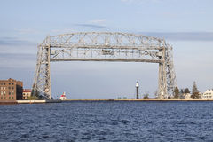Duluth Lift Bridge Stock Photo