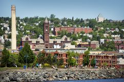 Duluth Minnesota Royalty Free Stock Photos