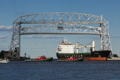 Duluth, MN Port Royalty Free Stock Image