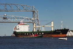 Duluth, MN Port Stock Image