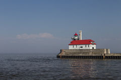 Duluth S Pier Lighthouse Stock Photography