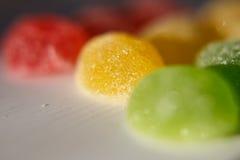 Dulzor del caramelo, masticando el azúcar, Foto de archivo libre de regalías