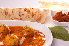 Dum Aloo- Spicy Indian Potato Curry Stock Photography