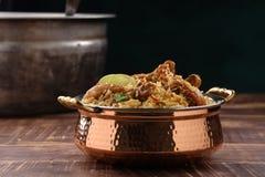 Free Dum Chicken Biriyani Royalty Free Stock Photo - 215558835