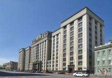 duma ρωσικό κράτος ομοσπονδί& στοκ εικόνες
