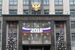 Duma de estado de Rússia Foto de Stock Royalty Free