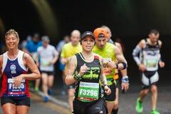 Duma maraton atleta Fotografia Royalty Free