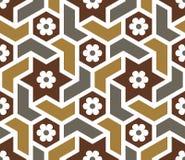 Duma-nahtloses Muster fünf Lizenzfreie Stockbilder