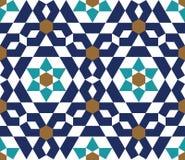 Duma-nahtloses Muster sechs Stockbild
