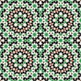 Duma-nahtloses Muster vier Stockfotos